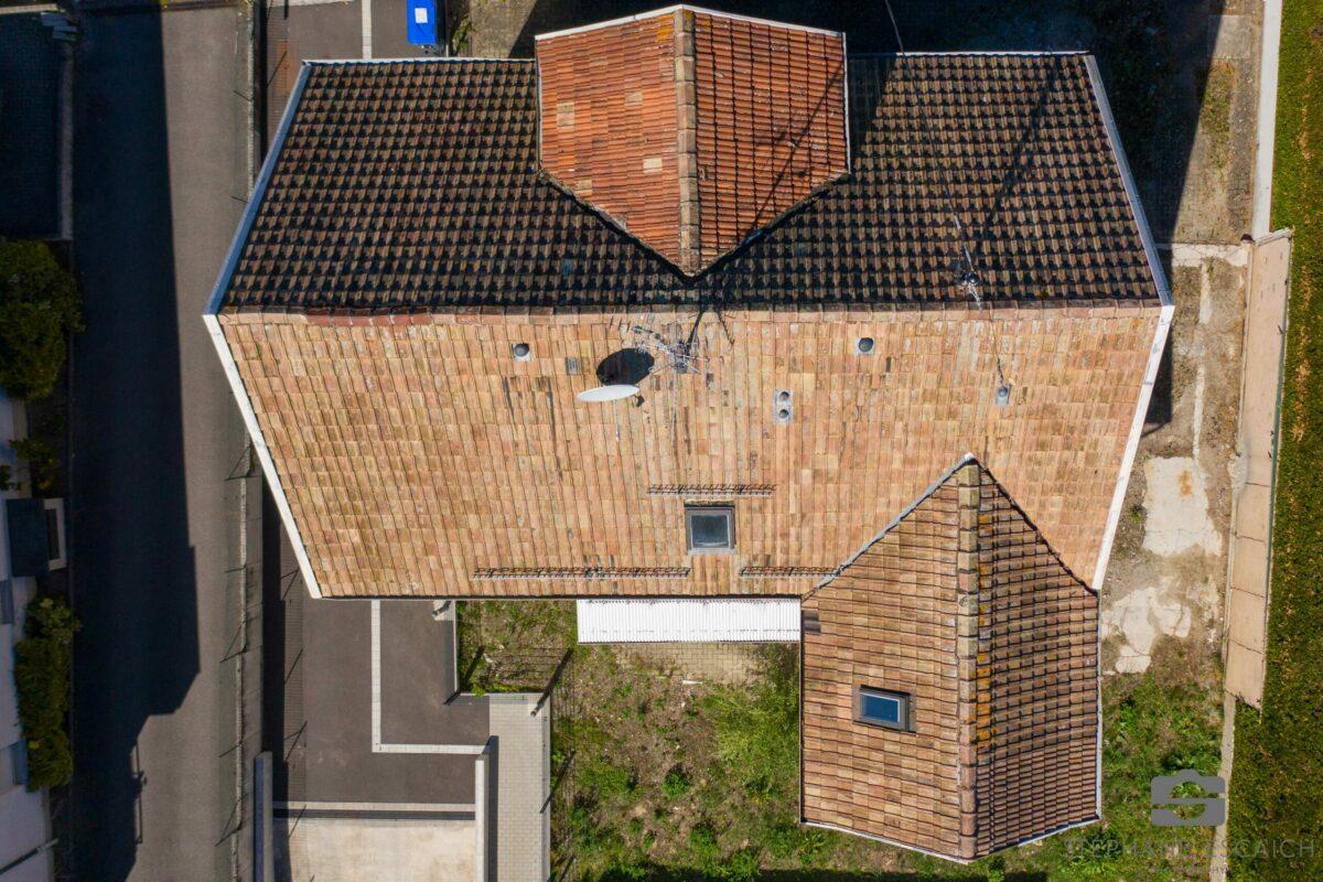 Inspection de toitures – Drone
